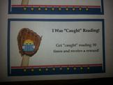Get Caught Reading Reward Cards