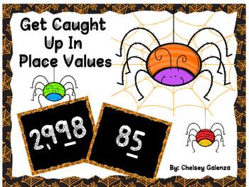 Get Caught Up In Place Values-Halloween Edition