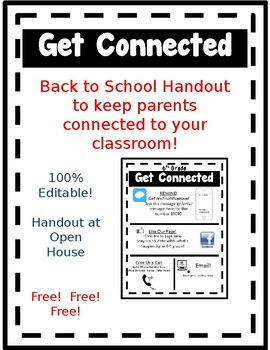 Get Connected Flyer!