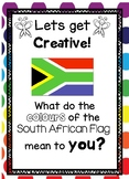 Get Creative: What do the colors of the South African Flag mean to YOU?