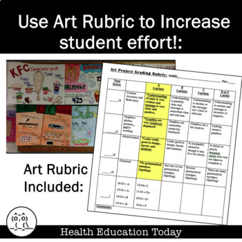 Get Fantastic Art Projects From Your Students:  FREE Art Rubric and More