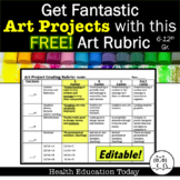 Get Fantastic Art Projects From Your Students:  FREE Art R