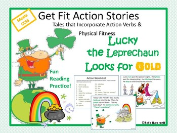 Get Fit Action Story: Lucky the Leprechaun Looks for Gold