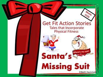 Get Fit Action Story: Santa's Missing Suit