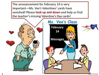Get Fit Action Story: The Vanishing Valentines