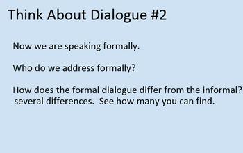 Introductory Speaking Bundle