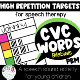 Get High Repetitions on CVC Words in Speech Therapy: Boom