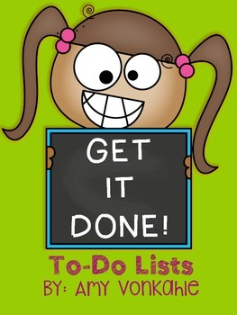 Get It Done!  To-Do List Templates