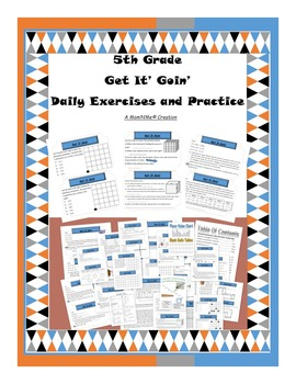 Get It Goin' Math 5th Grade Daily Exercises