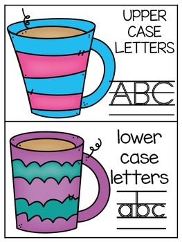 Get It Together {Guided Reading} Winter Edition (Letter Sorts)