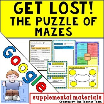 Get Lost The Puzzle of Mazes   Journeys 5th Grade Unit 6 Lesson 30 Google