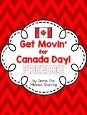 Get Movin' for Canada Dance FREEBIE!