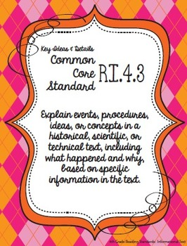 Get Organized!  4th Grade Common Core ELA Binder Organizer & Tracker