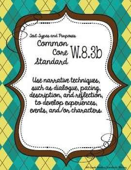 Get Organized!  8th Grade Common Core ELA Binder Organizer & Tracker