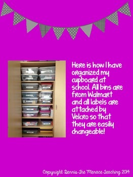 Get Organized with Cupboard Labels- GREY Edition