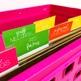 Get Organized! Editable File Box Labels