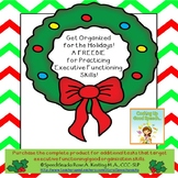 Get Organized For the Holidays {A FREEBIE for  Executive F