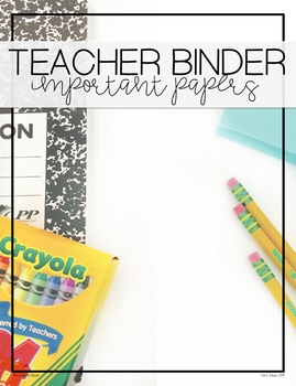 Get Organized! Free Binder Covers