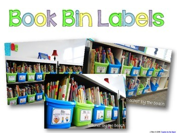 Get Organized - Labels for the Whole Room {Editable}