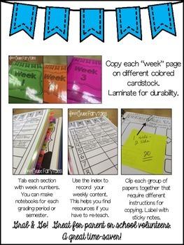 Get Organized! Make a Copy Binder!
