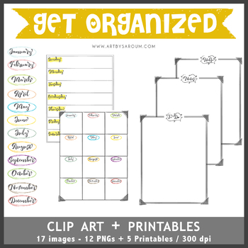 Get Organized Pack