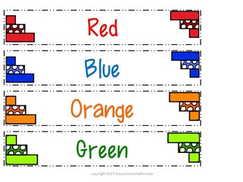 Get Organized Series: Color Labels FREEBIE