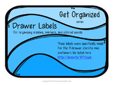 Get Organized Series: Color Labels FREEBIE