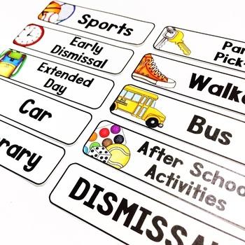 Student Dismissal Chart