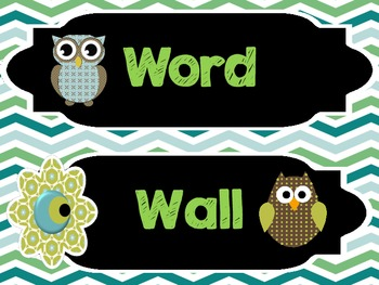 Get Organized!!!  Tons of Classroom Labels + 500 Word Wall Cards