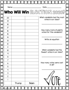 Get Out And Vote! Election 2016 Classroom Resources