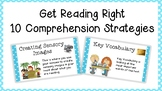Get Reading Right Comprehension Strategy Posters