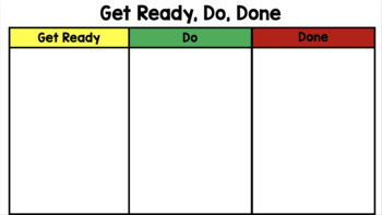 Get Ready, Do, Done (Google Slides)