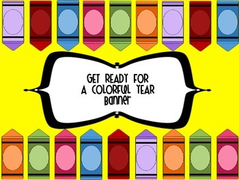 Get Ready For A Colorful Year Banner