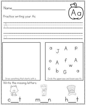 Get Ready For Kindergarten Summer Packet by Kendra's ...
