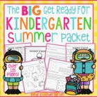 Get Ready For Kindergarten Summer Packet