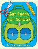 Get Ready For School! A Back to School Math Game Freebie