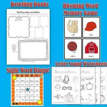 Kindergarten Readiness Activities