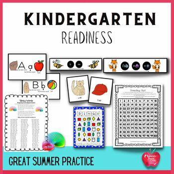 Get Ready, Get Set For Kindergarten Activities! Kindergart