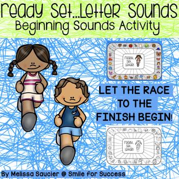 Get Ready, Get Set... Letter Sounds!