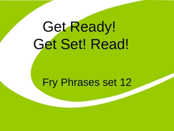 Get Ready! Get Set! Read! set 12