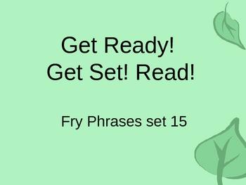 Get Ready! Get Set! Read! set 15