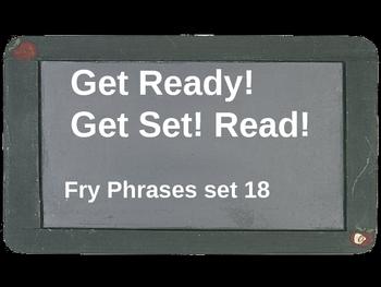 Get Ready! Get Set! Read! set 18
