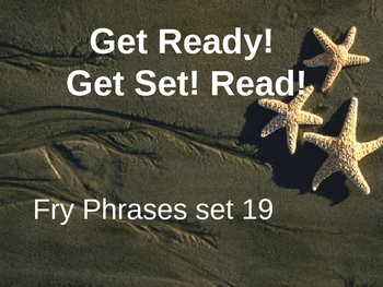 Get Ready! Get Set! Read! set 19