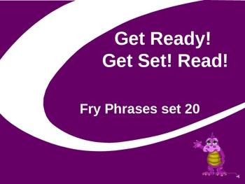 Get Ready! Get Set! Read! set 20