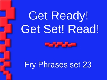 Get Ready! Get Set! Read! set 23