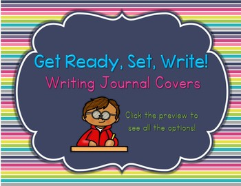 Get Ready, Set, Write! : Writing Journal Covers