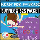 Get Ready for 2nd Grade! PRINT & DIGITAL {Math & Literacy} (TEKS & CCSS Aligned)