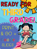 Get Ready for 3rd Grade! Distance Learning (PRINT & DIGITAL)