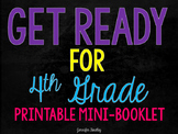 Get Ready for 4th Grade {Printable Mini Booklet}