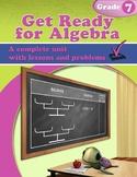 Get Ready for Algebra Grade 7